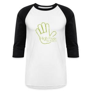 High Five Baseball Tee (Logo) - Baseball T-Shirt