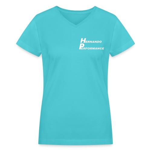 V-Neck - Women's V-Neck T-Shirt