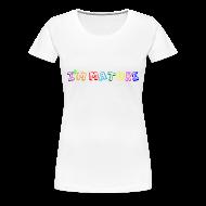 T-Shirts ~ Women's Premium T-Shirt ~ I'm Mature - Immature