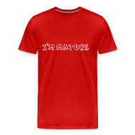 T-Shirts ~ Men's Premium T-Shirt ~ I'm Mature - Immature