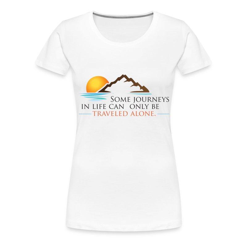 Viral Life Quote: Quotes Ken Poirot T-shirt Front - Women's Premium T-Shirt