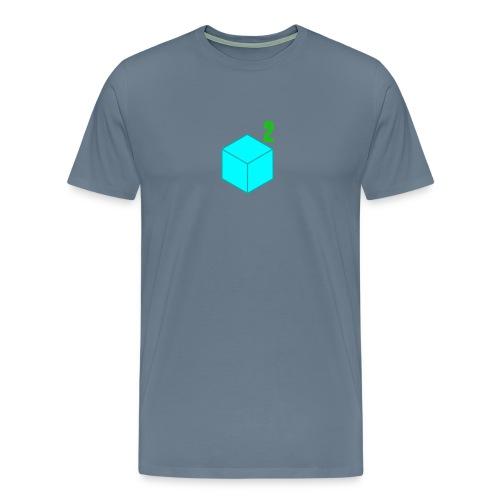 Men's CubeSquared Logo - Men's Premium T-Shirt