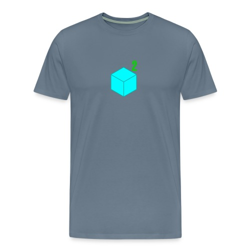 Men's CubeSquared Logo - Men's Premium T-Shirt