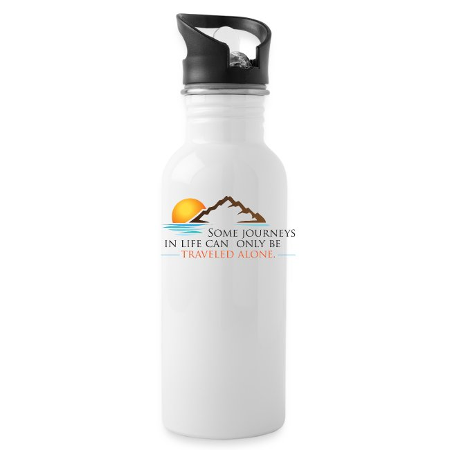 Viral Life Quote: Quotes Ken Poirot Travel Water Bottle