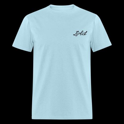 Lvld Brand Plain T - Powder Blue w/ Black Logo - Men's T-Shirt
