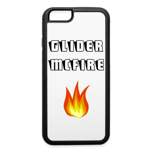Glider McFire iPhone 6/6s Rubber Case - iPhone 6/6s Rubber Case