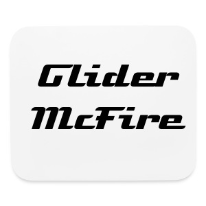 Glider McFire Mouse Pad Horizontal - Mouse pad Horizontal