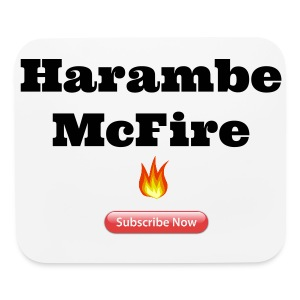 Harambe McFire Limited Mouse Pads - Mouse pad Horizontal