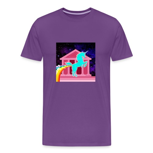 Unicorn Pink Fantasy - Men's Premium T-Shirt