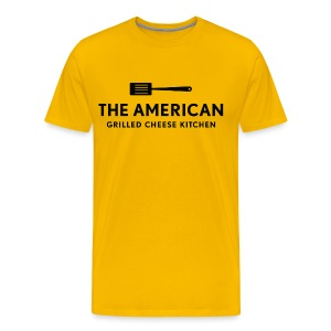 TAGCK Logo Tee - Yellow - Men's Premium T-Shirt