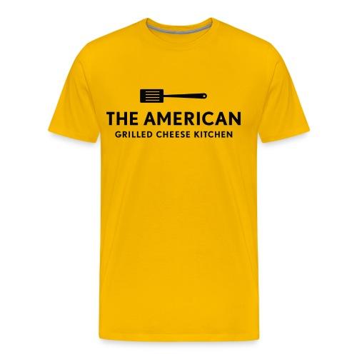 TAGCK Logo Tee - Yellow - Men's Premium T-Shirt
