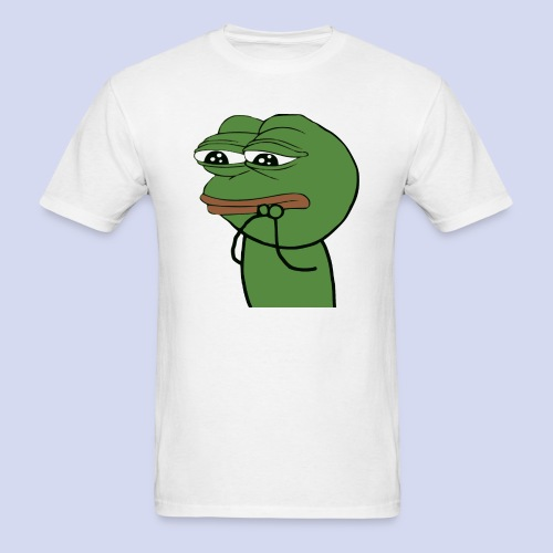Cute Sad Pepe - Men's T-Shirt