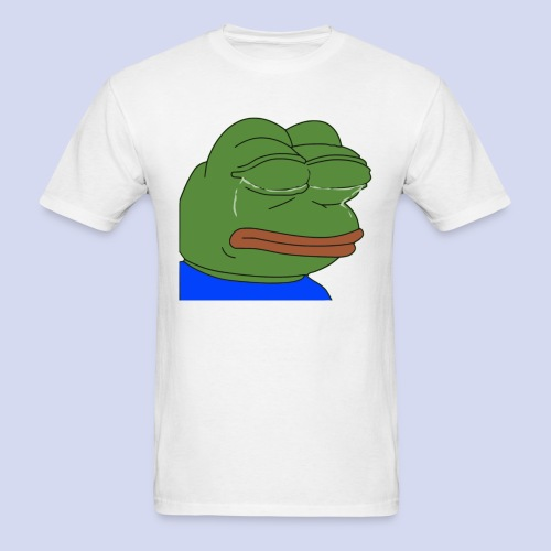 Crying Pepe - Men's T-Shirt