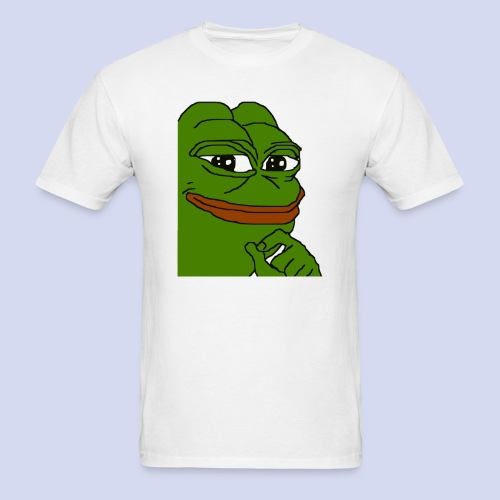 Smug Pepe - Men's T-Shirt