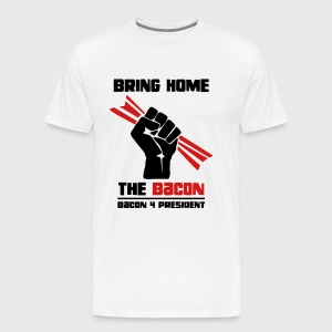 Bring Home The Bacon Solidarity Mens Tee - Men's Premium T-Shirt