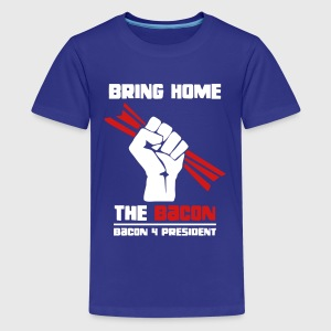 Bring Home The Bacon Solidarity Kids Premium Tee - Kids' Premium T-Shirt