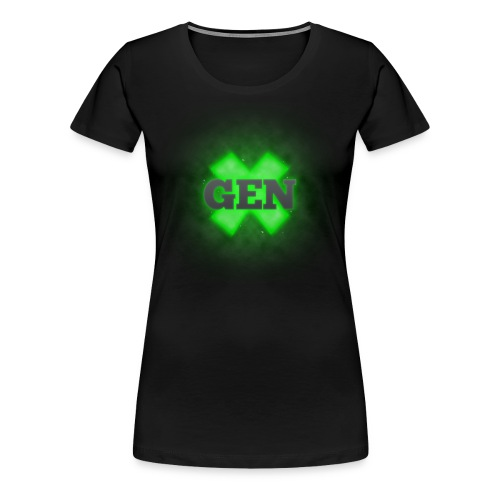 Premium Women's Gen X - Women's Premium T-Shirt