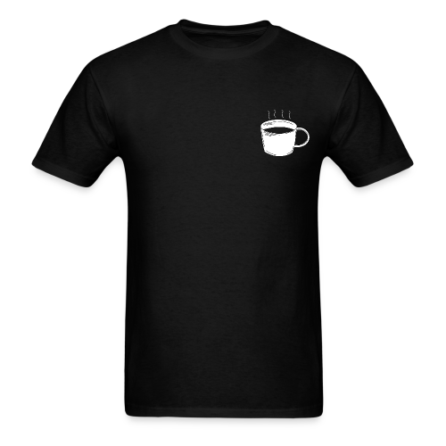 Coffee and Satan Shirt - Men's T-Shirt