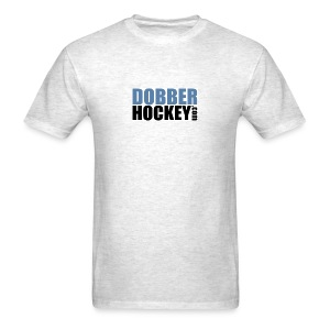 DobberHockey.com Logo - Men's T-Shirt