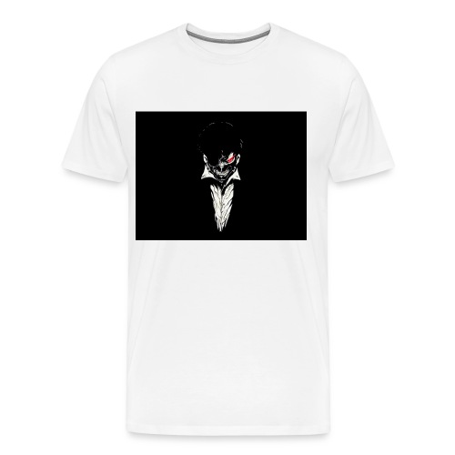 Kaneki Ken - Black and White - Men's Premium T-Shirt