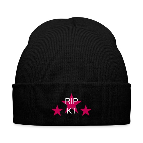 RIP Kris Travis  - Knit Cap with Cuff Print