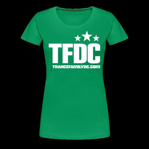 Sweet Green [W - White Logo] - Women's Premium T-Shirt