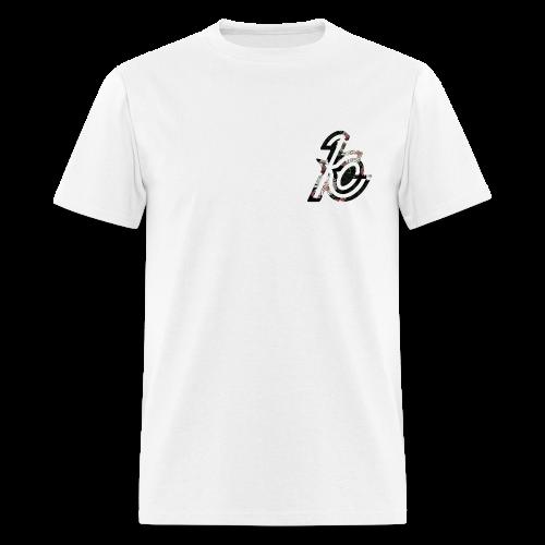 Kevin Co logo Floral Tee  - Men's T-Shirt