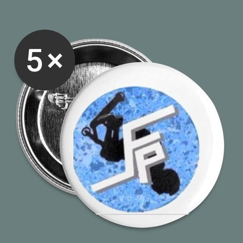 Flowpro 5 Pack of Badges - Small Buttons