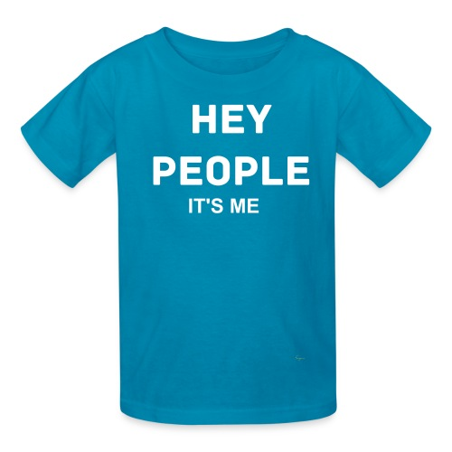 Youth HEY PEOPLE IT'S ME Veeque Gaming T-Shirt - Kids' T-Shirt