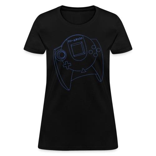 Dreamcast Controller Blueprints T-Shirt (Women's) - Women's T-Shirt
