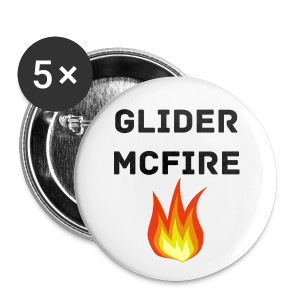 Glider McFire Small Buttons - Small Buttons