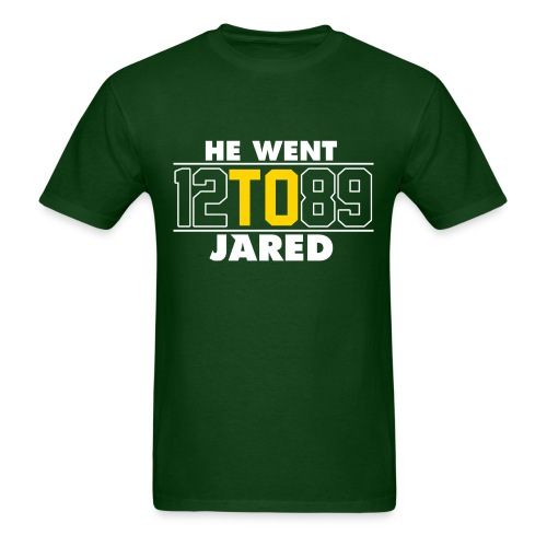 He Went To Jared C. Forest - Men's T-Shirt