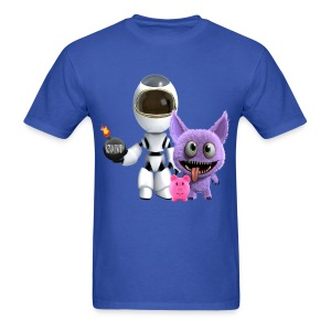Adventures of a Cosmonaut  - Men's T-Shirt