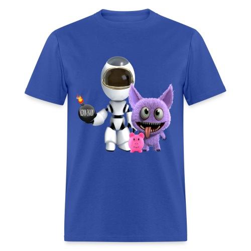 Adventures of a Cosmonaut  - Men's T-Shirt