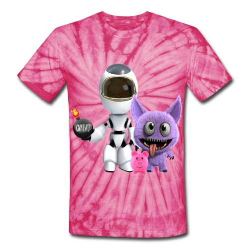 K3vin Envoy Unisex T-Shirt - Unisex Tie Dye T-Shirt