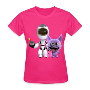 Women's T-Shirt - Adventures of a Cosmonaut  - Women's T-Shirt