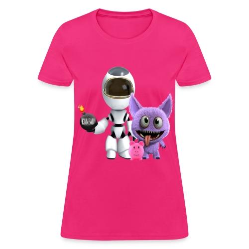 Women's T-Shirt - Adventures of a Cosmonaut  - Women's T-Shirt