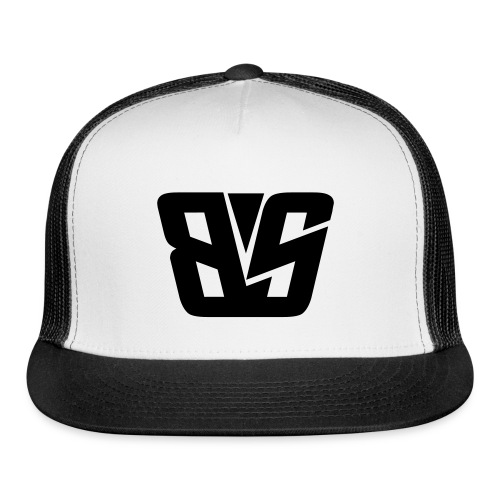 BS Trucker Cap Black - Trucker Cap