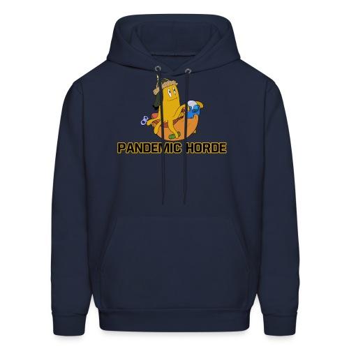 Pandemic Horde Logo - Men's Basic Hoodie - Men's Hoodie