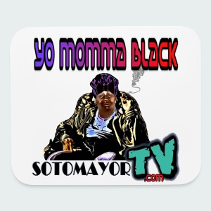 Yo Mama... - Mouse pad Horizontal
