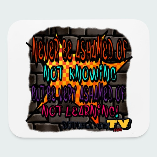 Never be.... - Mouse pad Horizontal