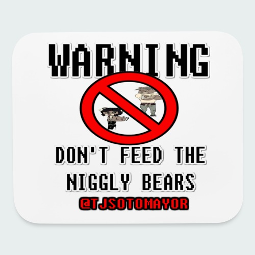 Don't Feed.... - Mouse pad Horizontal