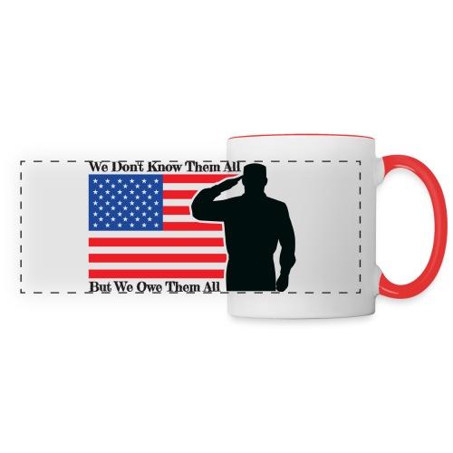 Owe Them All Panoramic Mug - Panoramic Mug