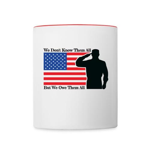 Owe Them All Contrast Coffee Mug - Contrast Coffee Mug