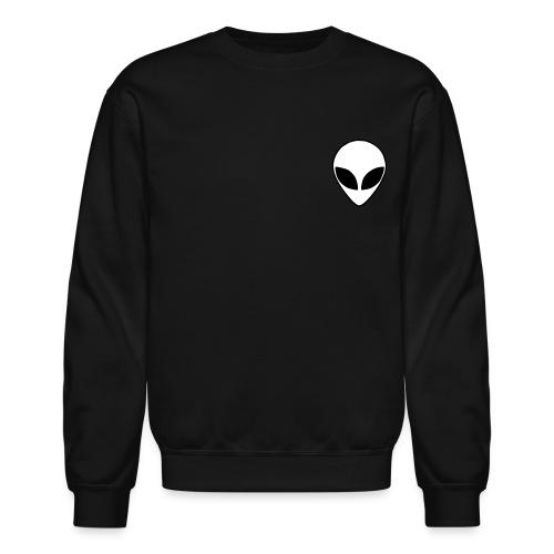 Space Black Alien Sweatshirt - Crewneck Sweatshirt