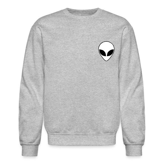 8eaa9aede55e Space Grey Alien Sweatshirt
