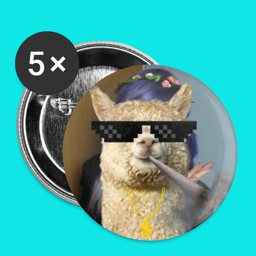 420 alpaca buttons - Large Buttons