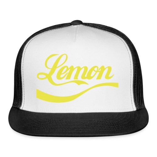 Lemon Trucker Hat - Trucker Cap