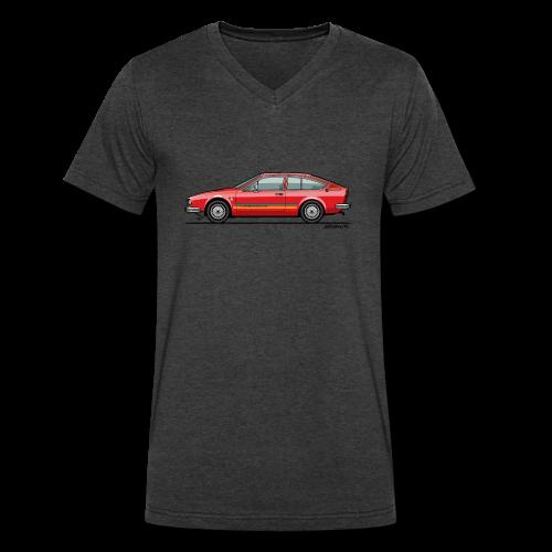 Alfetta GTV Turbodelta - Men's V-Neck T-Shirt by Canvas