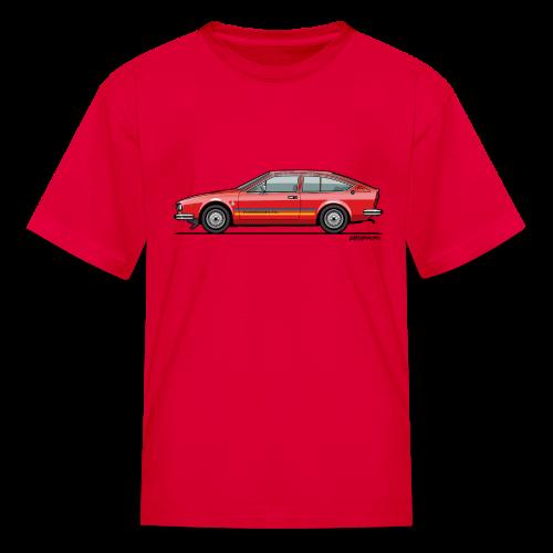 Alfetta GTV Turbodelta - Kids' T-Shirt